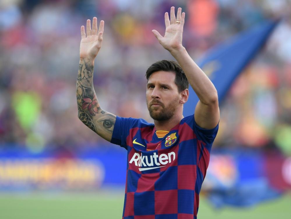 Messi fehlt wegen einer Wadenzerrung beim ersten Spiel