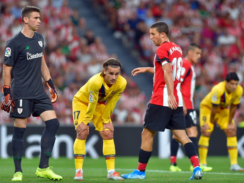 Der FC Barcelona patzt gegen Athletic Bilbao