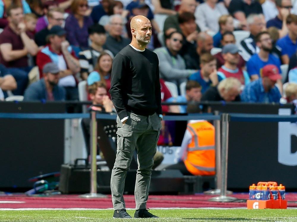Pep Guardiola gewinnt mit 3:1 beim AFC Bournemouth