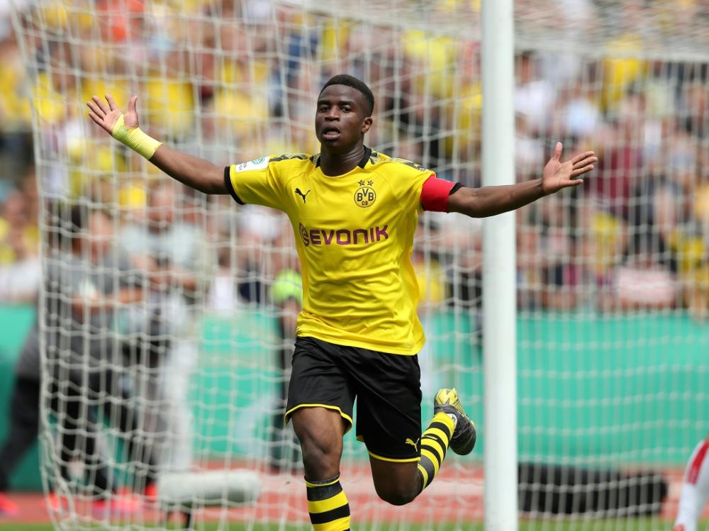 U19: Gegen Bielefeld trifft Youssoufa Moukoko dreifach
