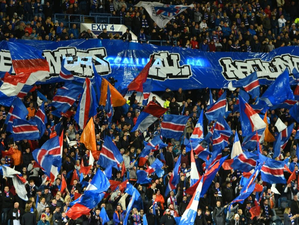 Die Rangers müssen einen Teil ihrer Fans ausschließen