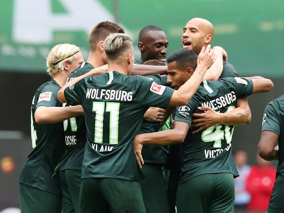 Wolfsburg ist bis jetzt noch ohne Punktverlust