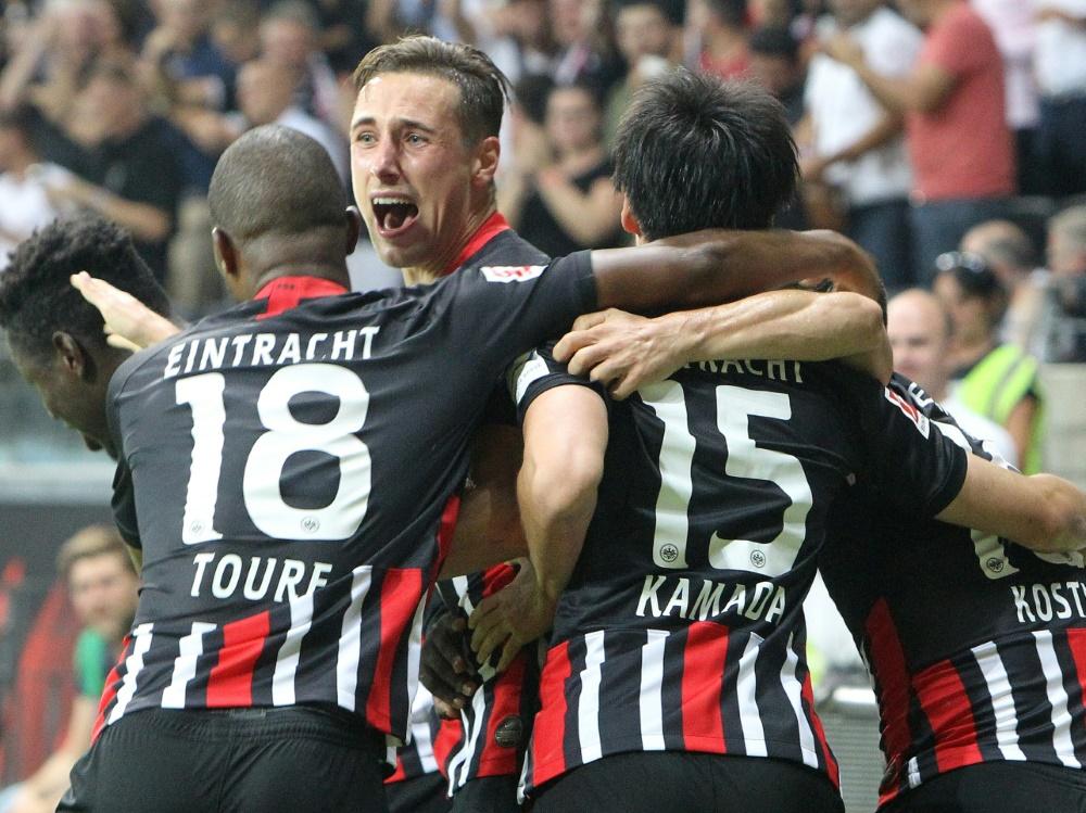 Frankfurt steht in der Gruppenphase der Europa League