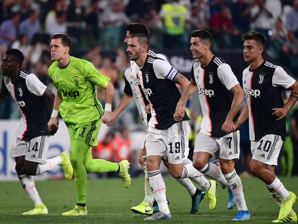 Juventus Turin gewinnt mit 4:3 gegen den SSC Neapel