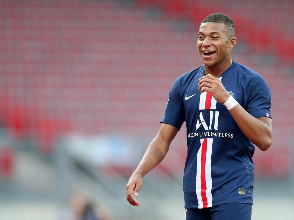 Kylian Mbappe verletze sich beim Spiel gegen FC Toulouse