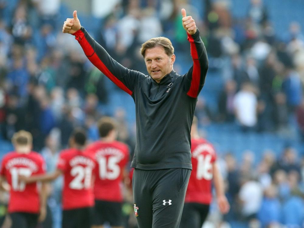 Hasenhüttl und Southampton spielen 1:1 gegen United