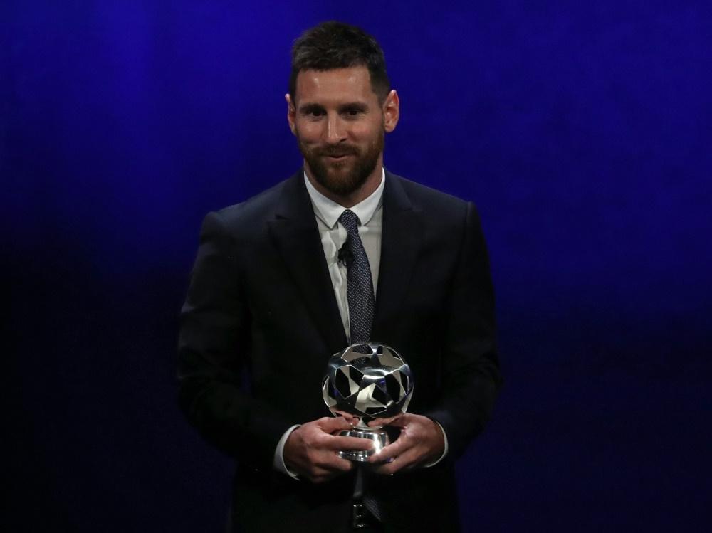 Lionel Messi fällt weiterhin aus