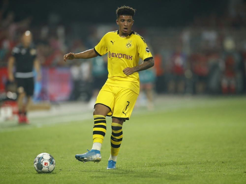 Jadon Sancho beklagt Rassismus im Fußball