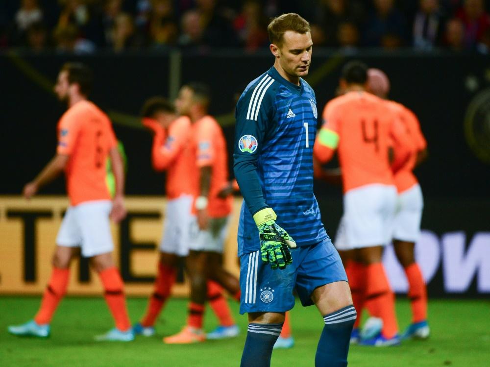 Schwacher Auftritt der deutschen Nationalmannschaft