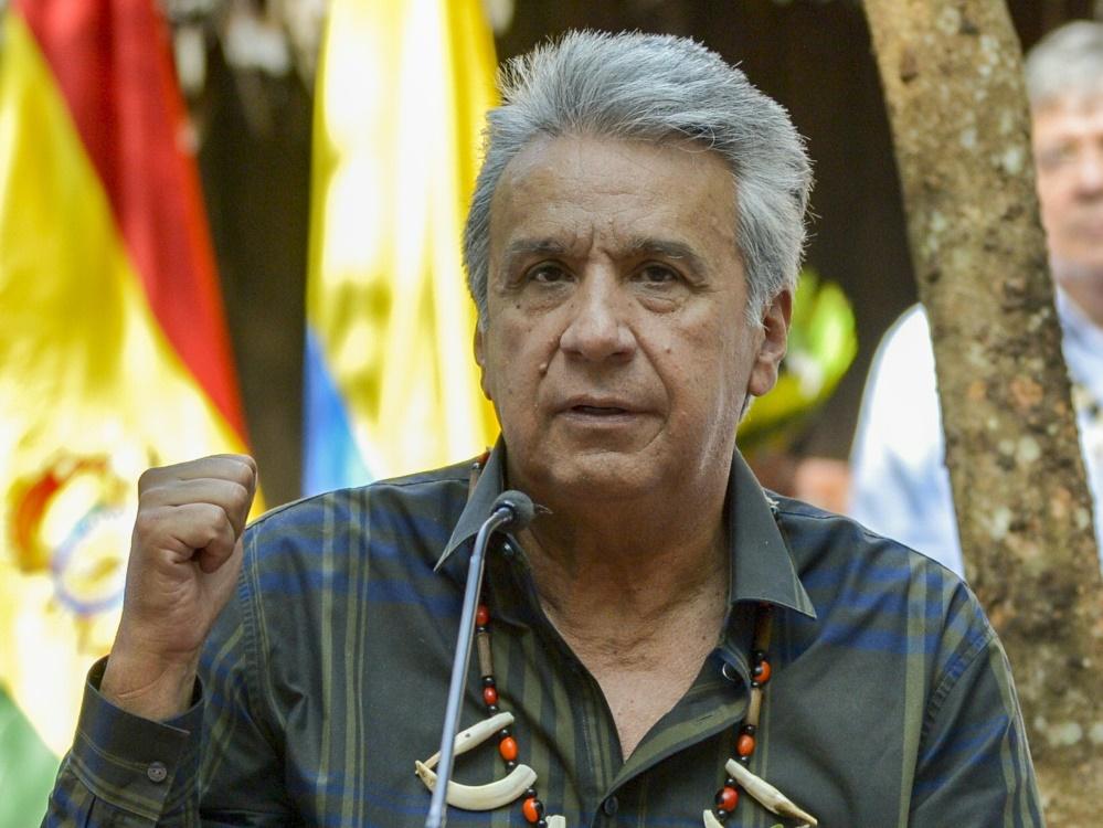 Ecuadors Präsident Lenin will Bewerbung für WM 2030