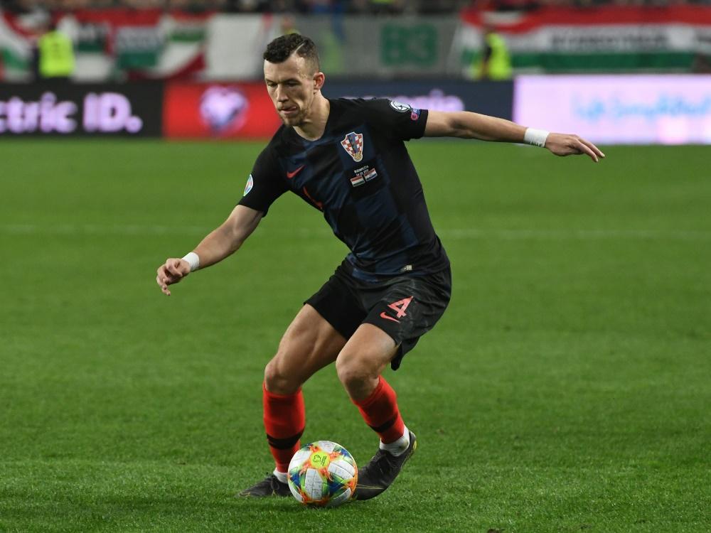 Ivan Perisic bringt die Kroaten auf EM-Kurs