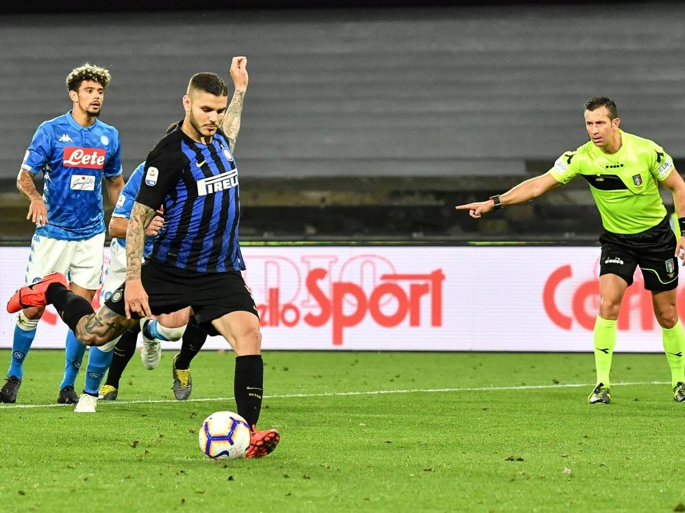 Icardi wird von Inter Mailand an PSG ausgeliehen
