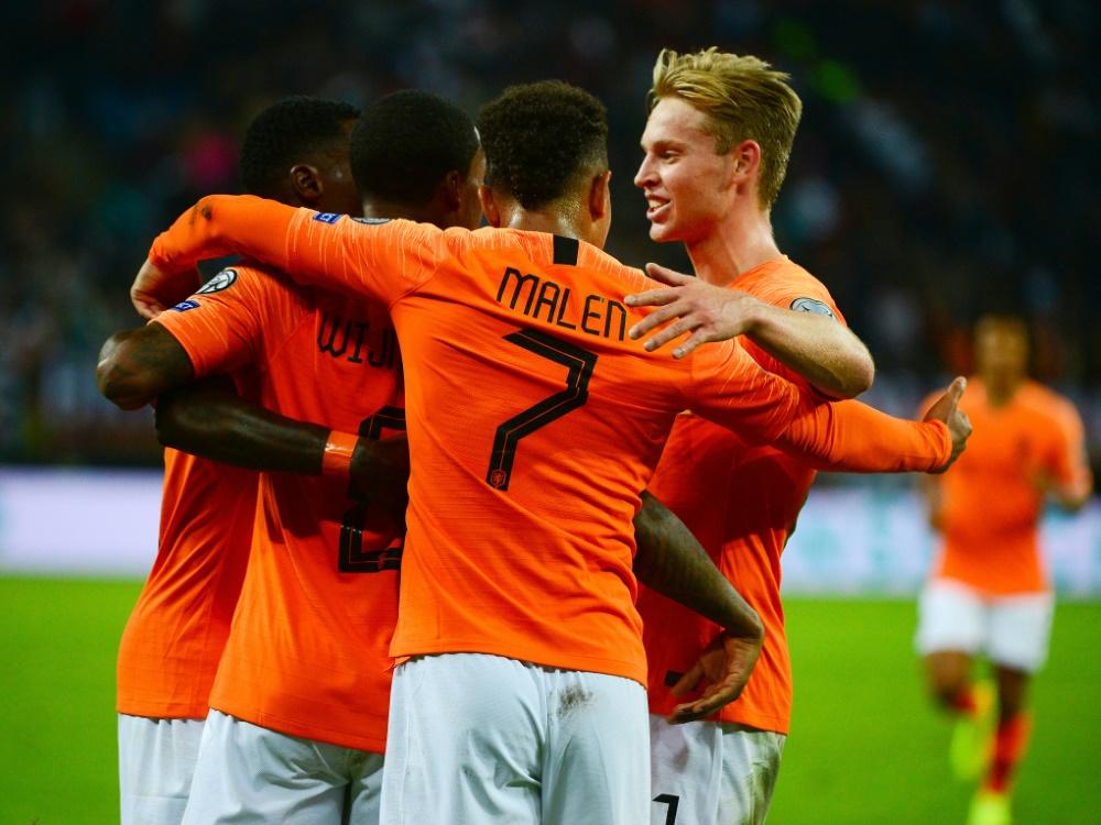 Die Niederlande drehte einen 0:1-Rückstand
