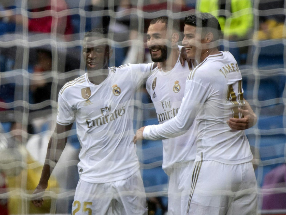 Real Madrid bezwingt UD Levante 3:2