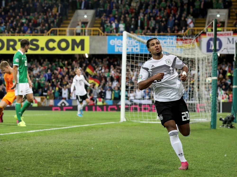 Gnabry erzielte das 2:0 gegen Nordirland