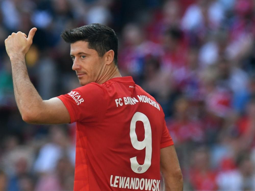 Robert Lewandowski träumt von einem Abschied wie Ribery