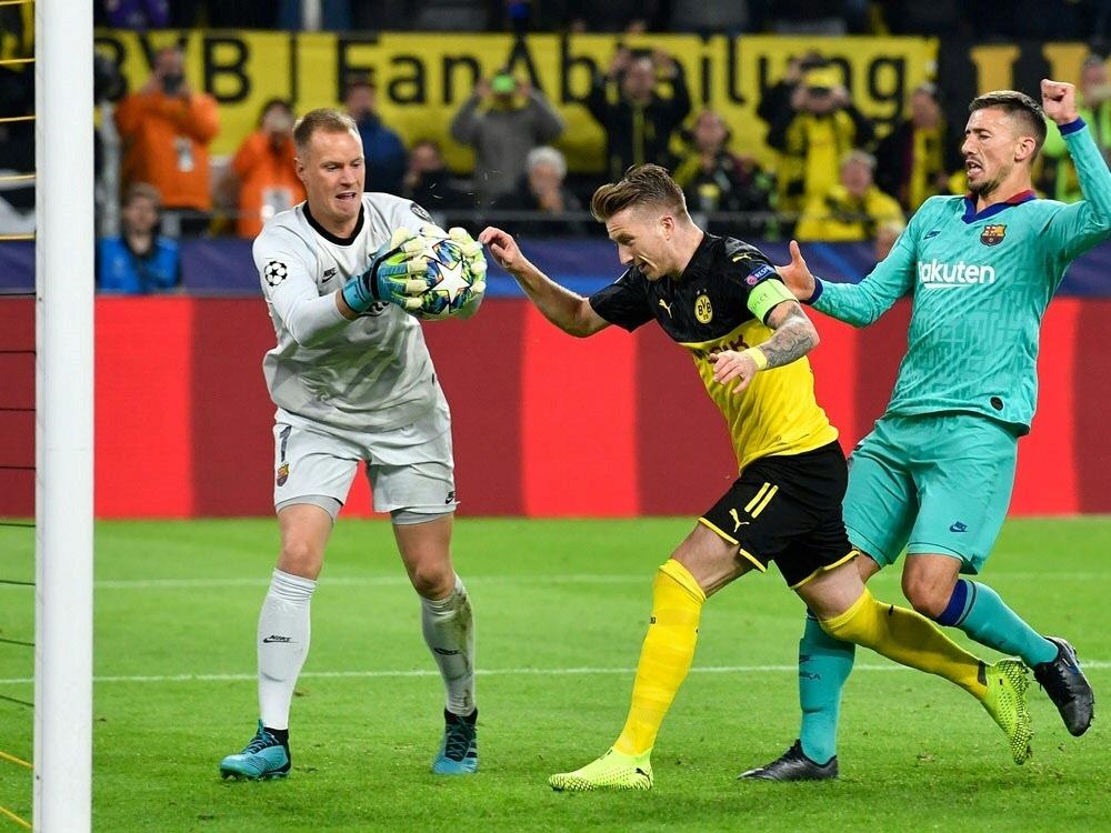 Marco Reus scheitert vom Punkt an ter Stegen