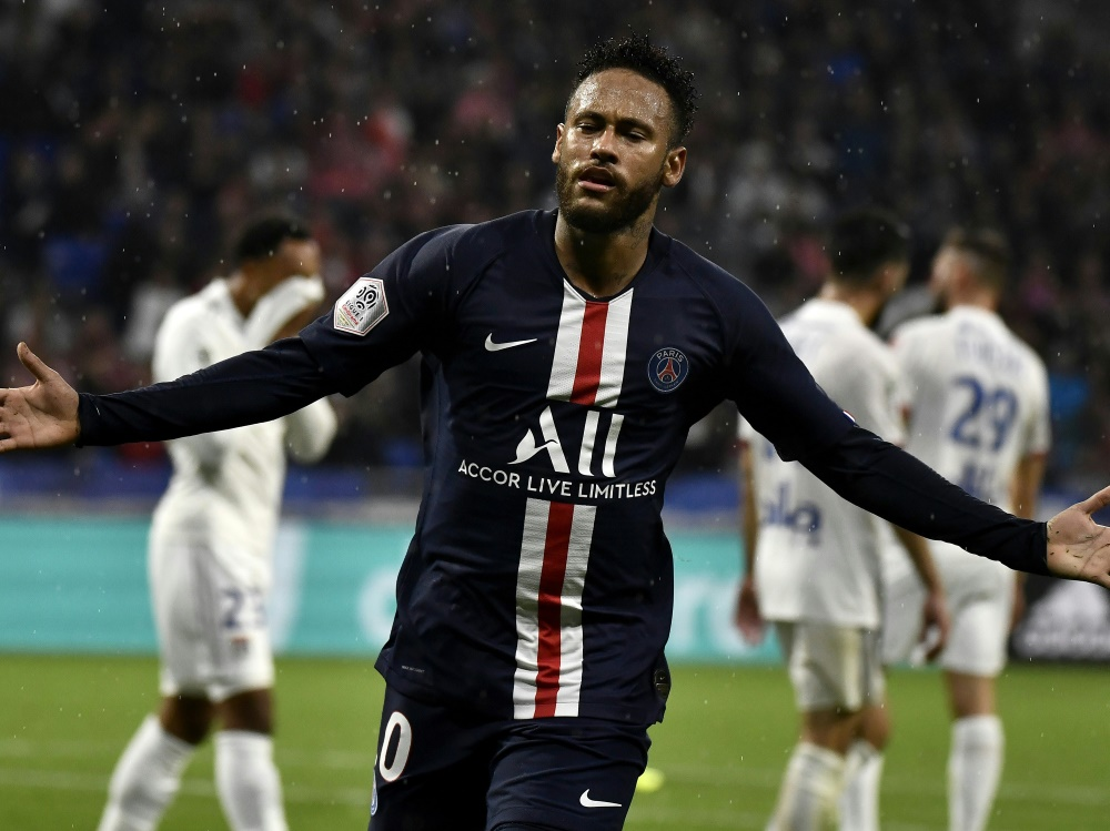 Neymar traf für Paris erneut zum 1:0-Sieg