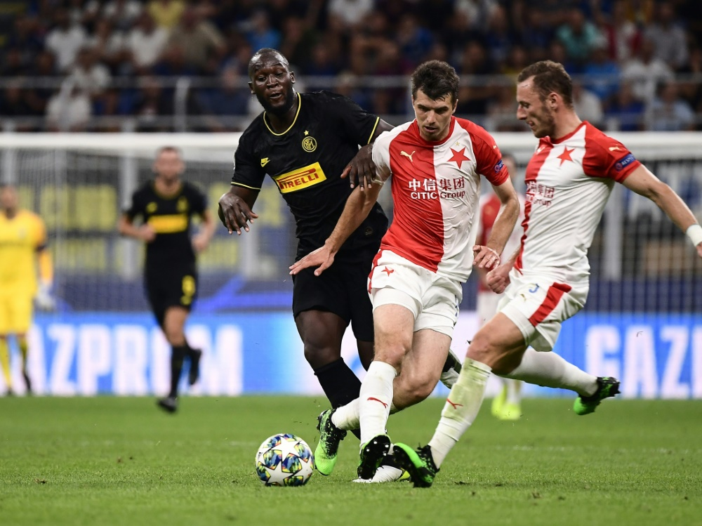 Inter Mailand lässt gegen Slavia Prag Punkte liegen