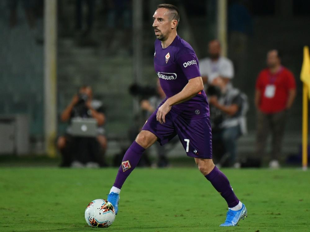 Ribery trifft, Florenz gewinnt