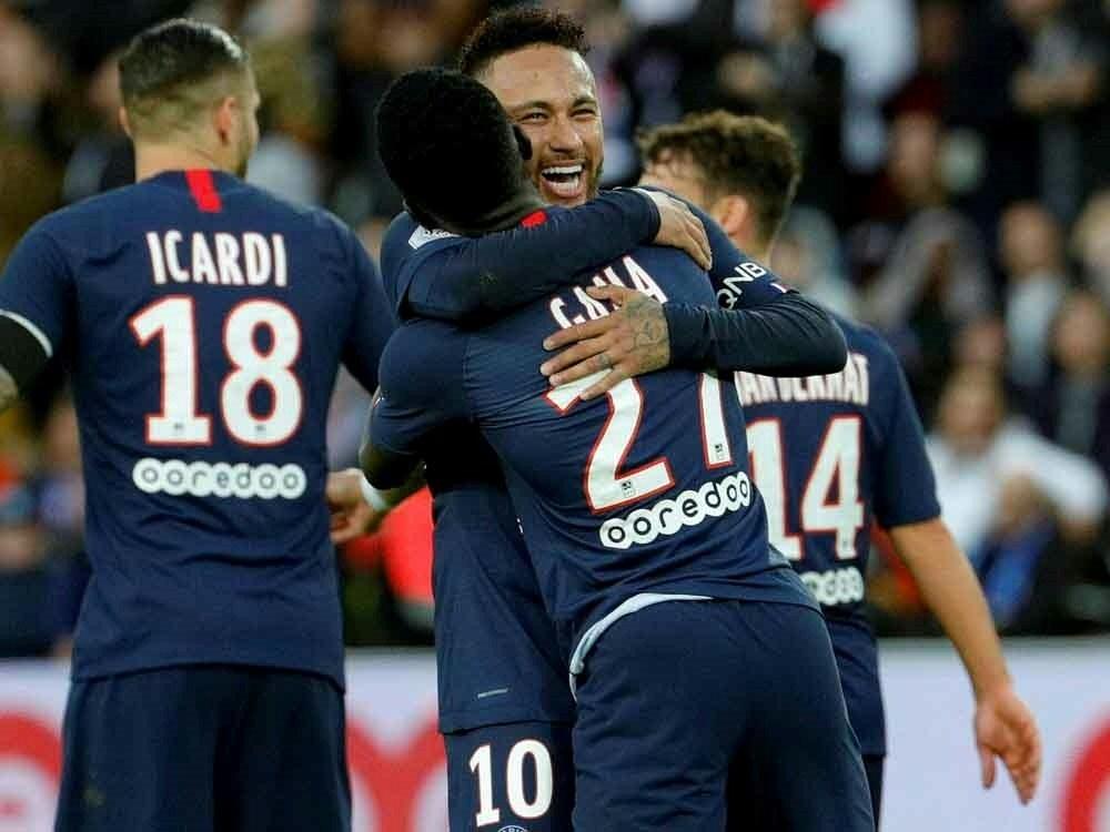 Superstar Neymar erzielt für Paris St. Germain das 4:0