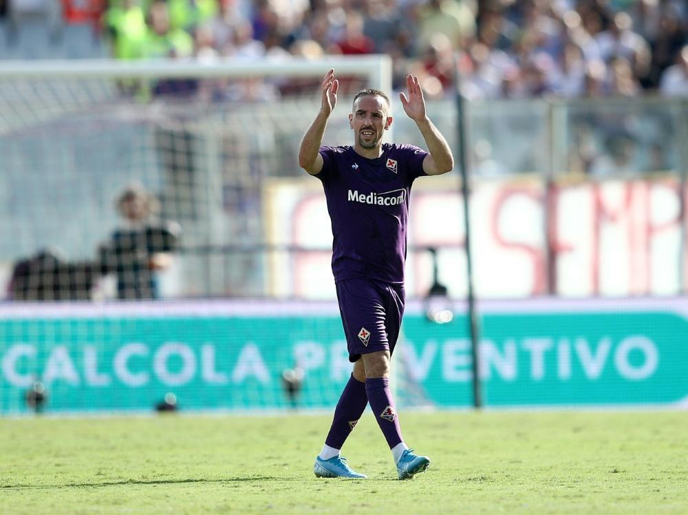 Franck Ribery ist in der Serie A Spieler des Monats