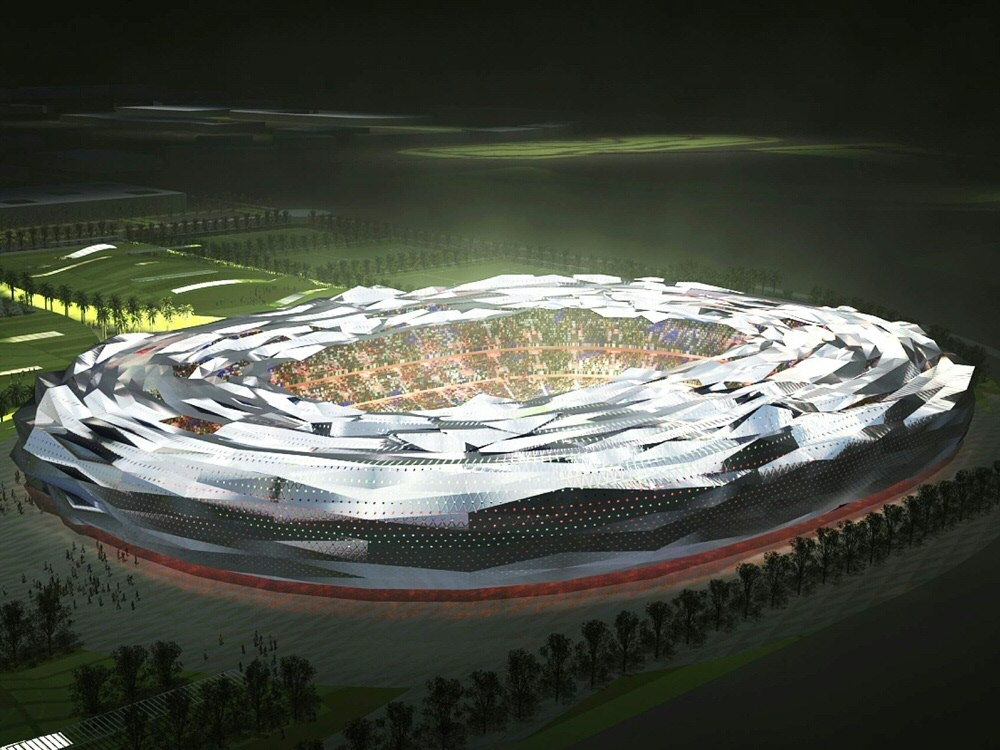 Fertigstellung des Education City Stadium für WM 2022