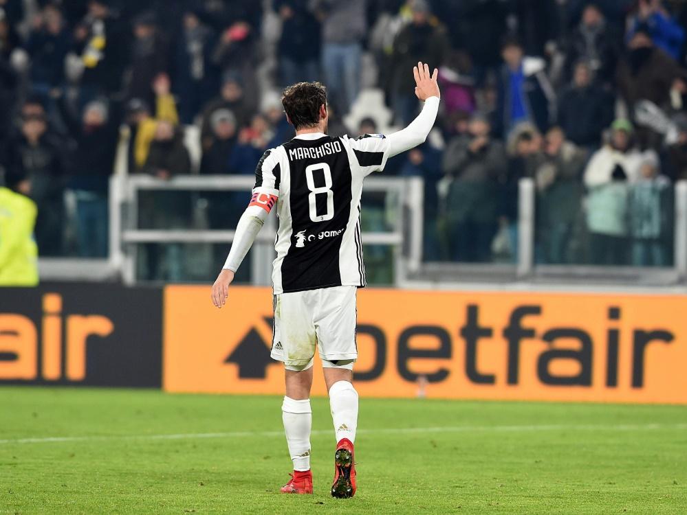 In 12 Jahren gewann Marchisio 7 Meisterschaften mit Juve