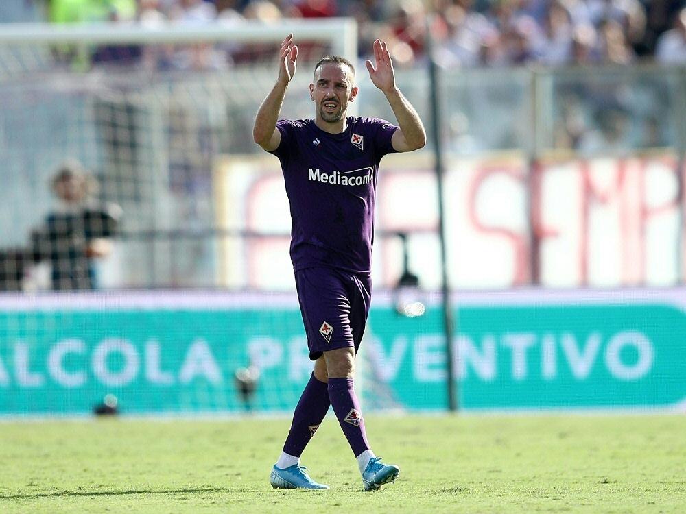 San Siro feiert Franck Ribery bei seiner Auswechslung