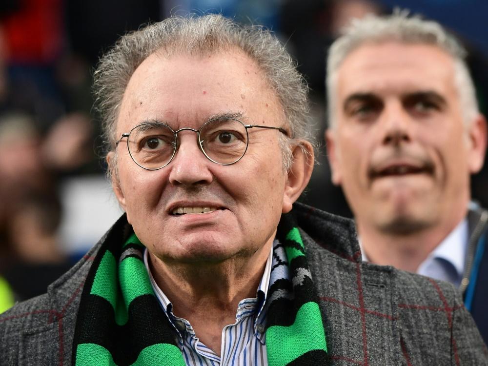 Sassuolos Vereinspräsident Squinzi starb am Mittwoch