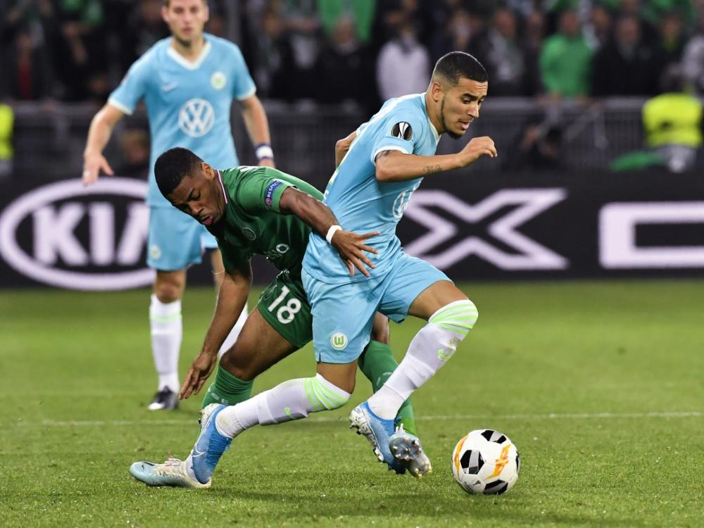 Der VfL Wolfsburg und St. Etienne trennen sich 1:1