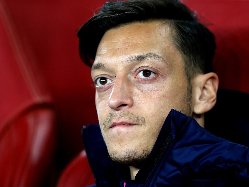 Mesut Özil hat es nicht ins Arsenal-Aufgebot geschafft