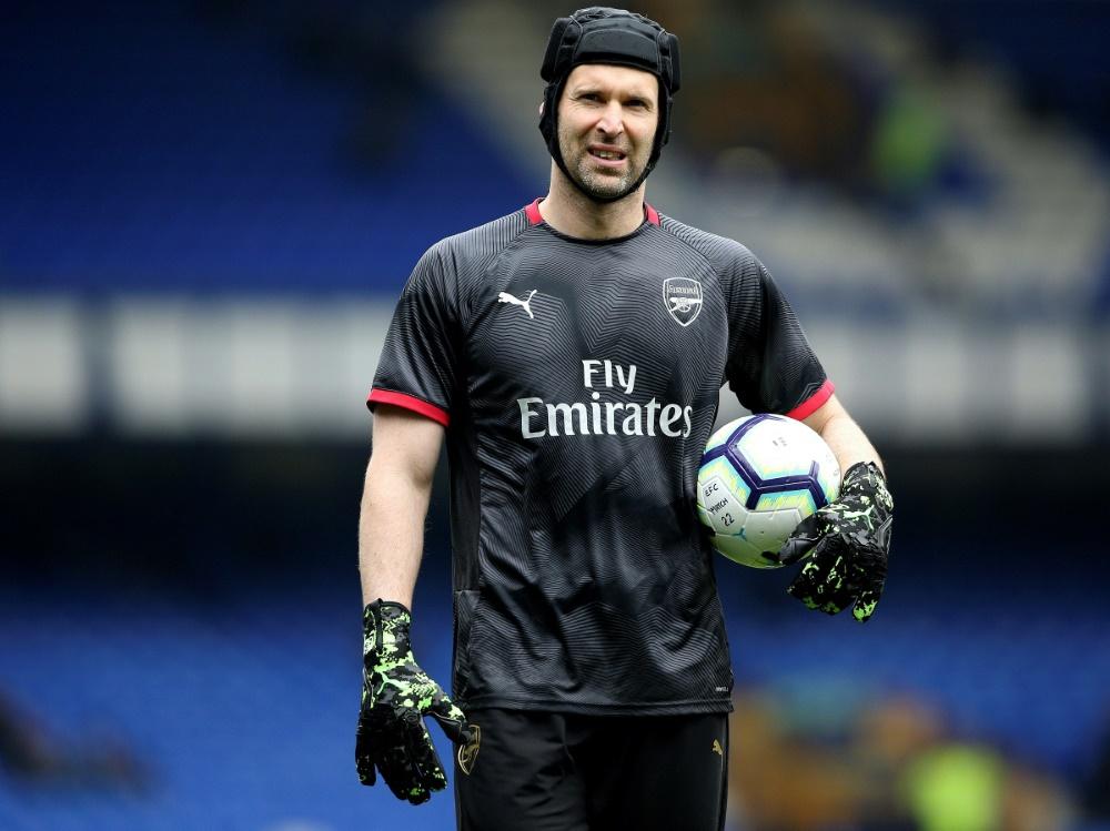 Petr Cech war zuletzt für den FC Arsenal aktiv