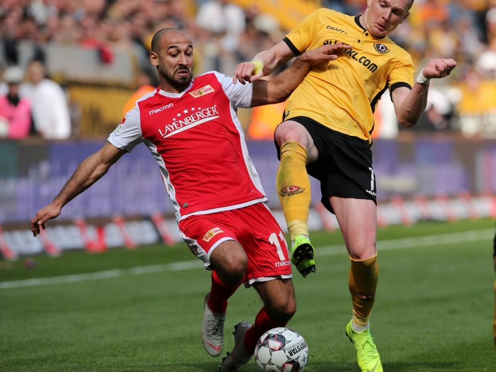 Union nur 0:0 gegen Dynamo Dresden