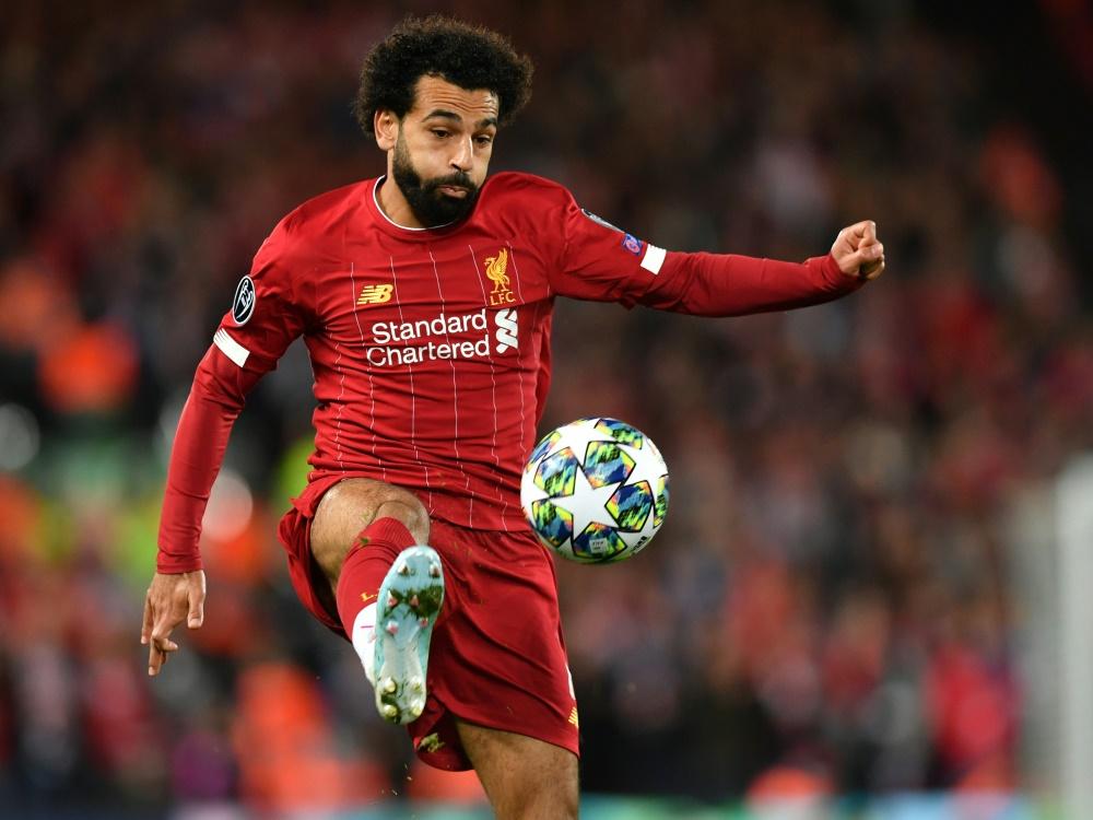 Salah verletzte sich im Spiel gegen Leicester nur leicht