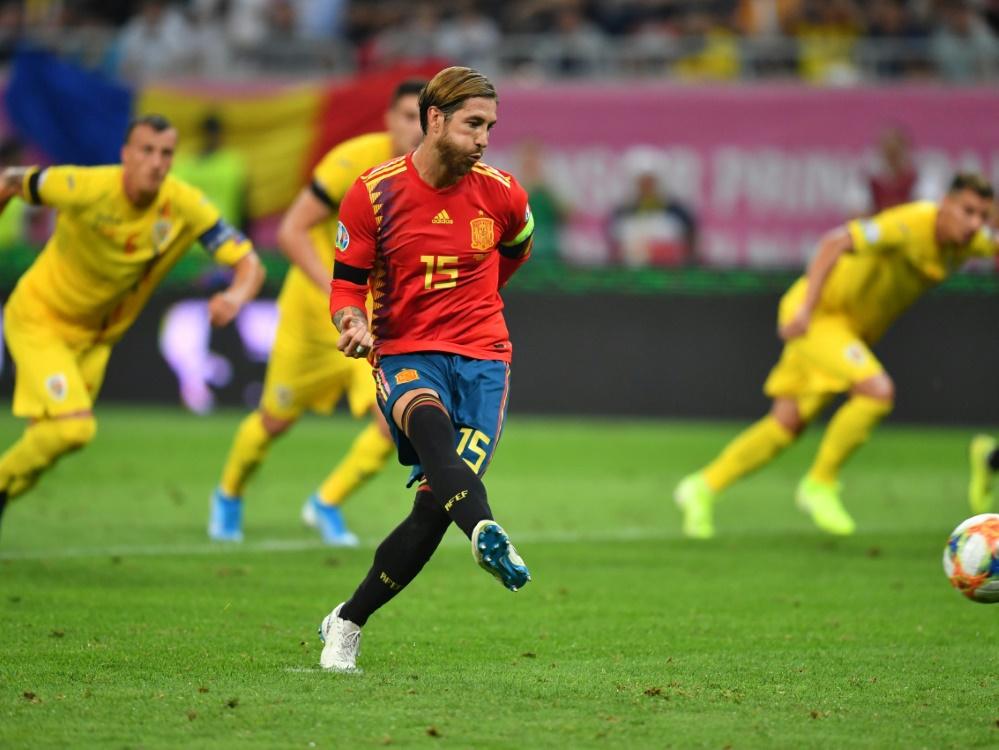 Wird Spaniens alleiniger Rekordspieler: Sergio Ramos