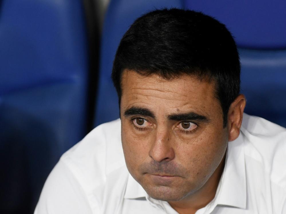 Gallego gelang nach acht Spieltagen nur ein Sieg