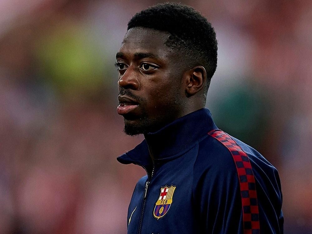 Ousmane Dembele wird den Clasico gesperrt verpassen