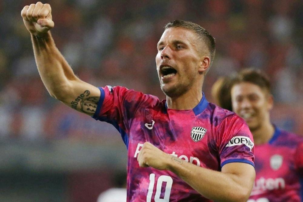 Spielt seit 2017 in Japan: Lukas Podolski
