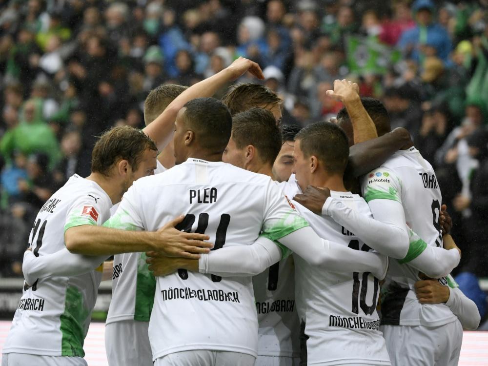 Borussia Mönchengladbach führt derzeit die Tabelle an