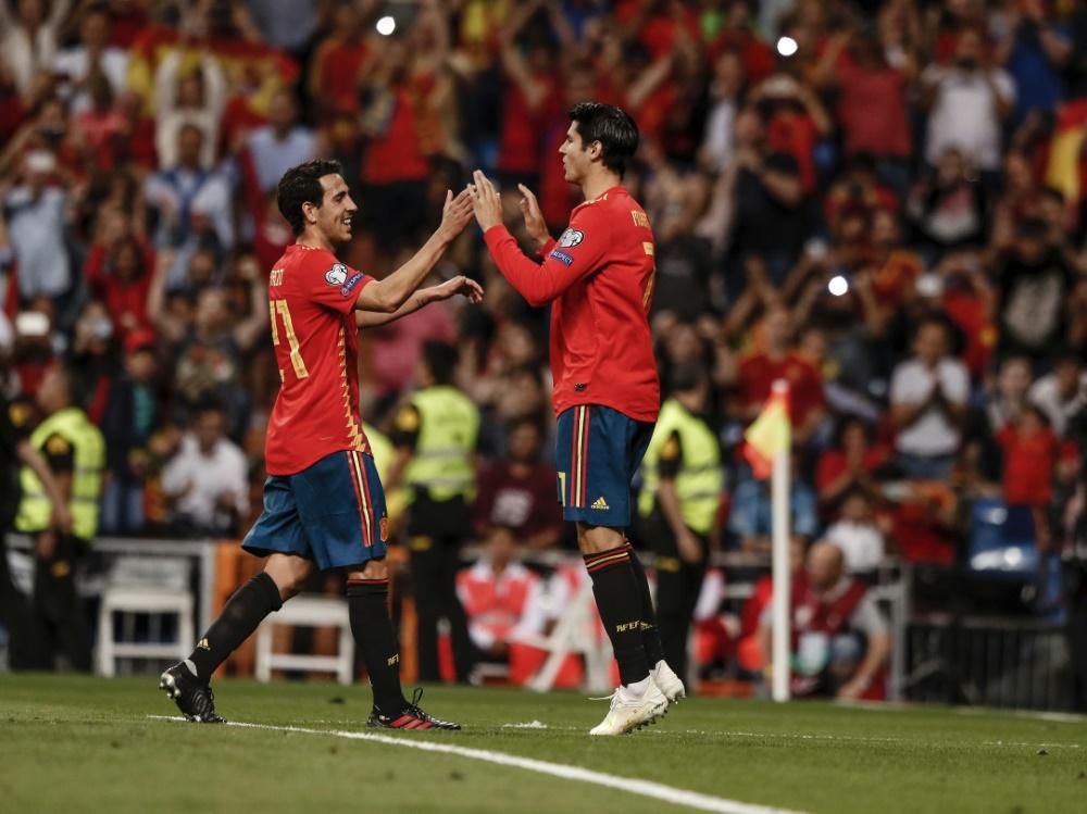 Spanien sicherte gegen Schweden das EM-Ticket