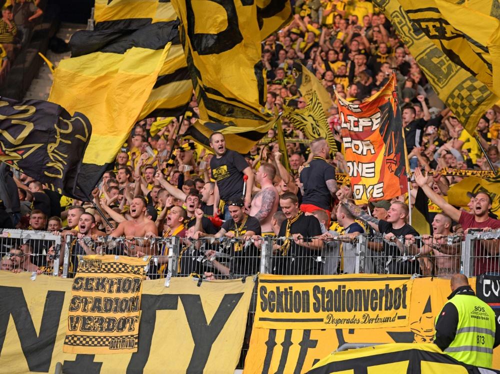 Fans des BVB waren in Prag negativ aufgefallen