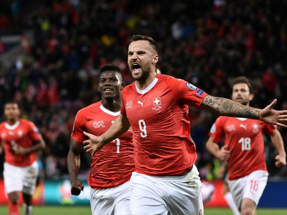 Haris Seferovic traf zum wichtigen 1:0