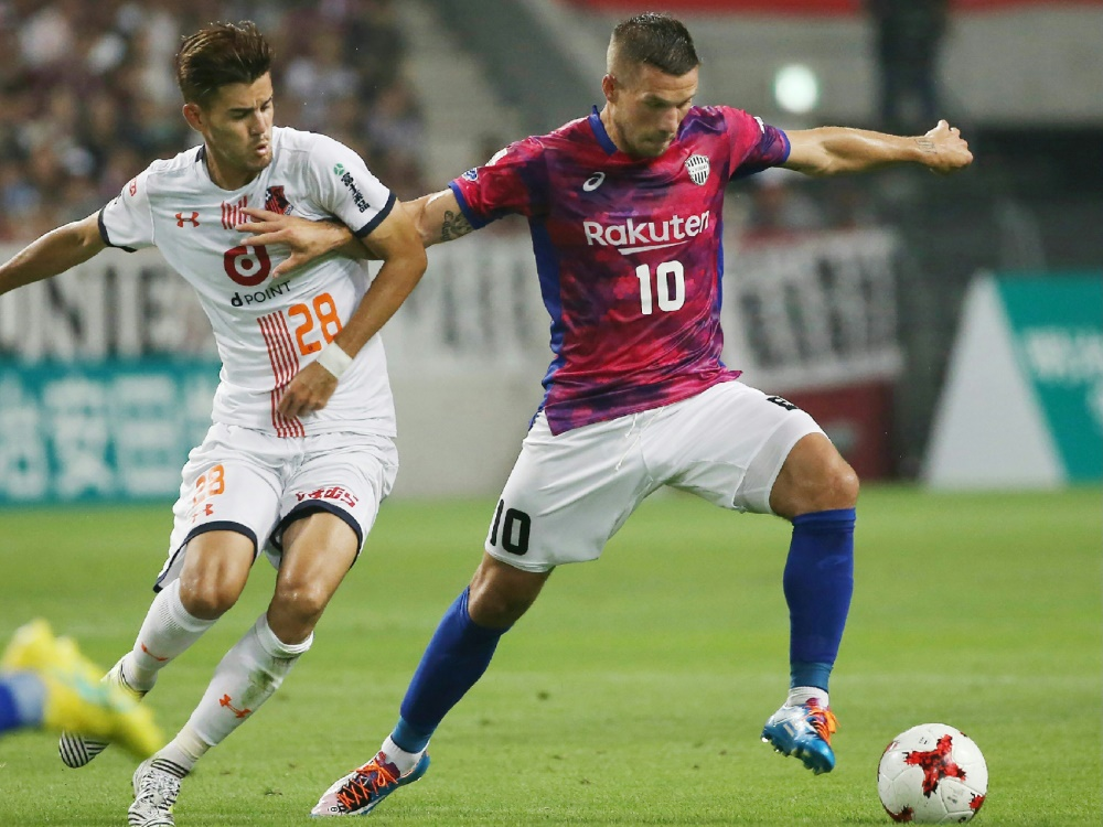 Niederlage für Lukas Podolski bei seinem Liga-Comeback