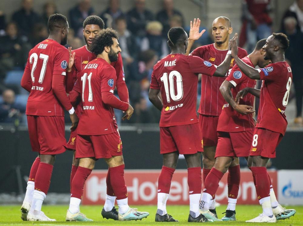 Souveräner Auftritt von Titelverteidiger FC Liverpool