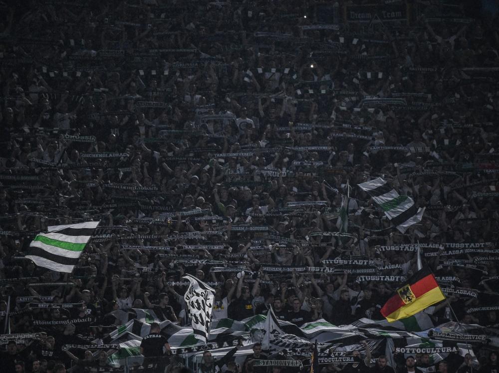 Gladbach-Fans beklagen sich über Ordnungskräfte in Rom