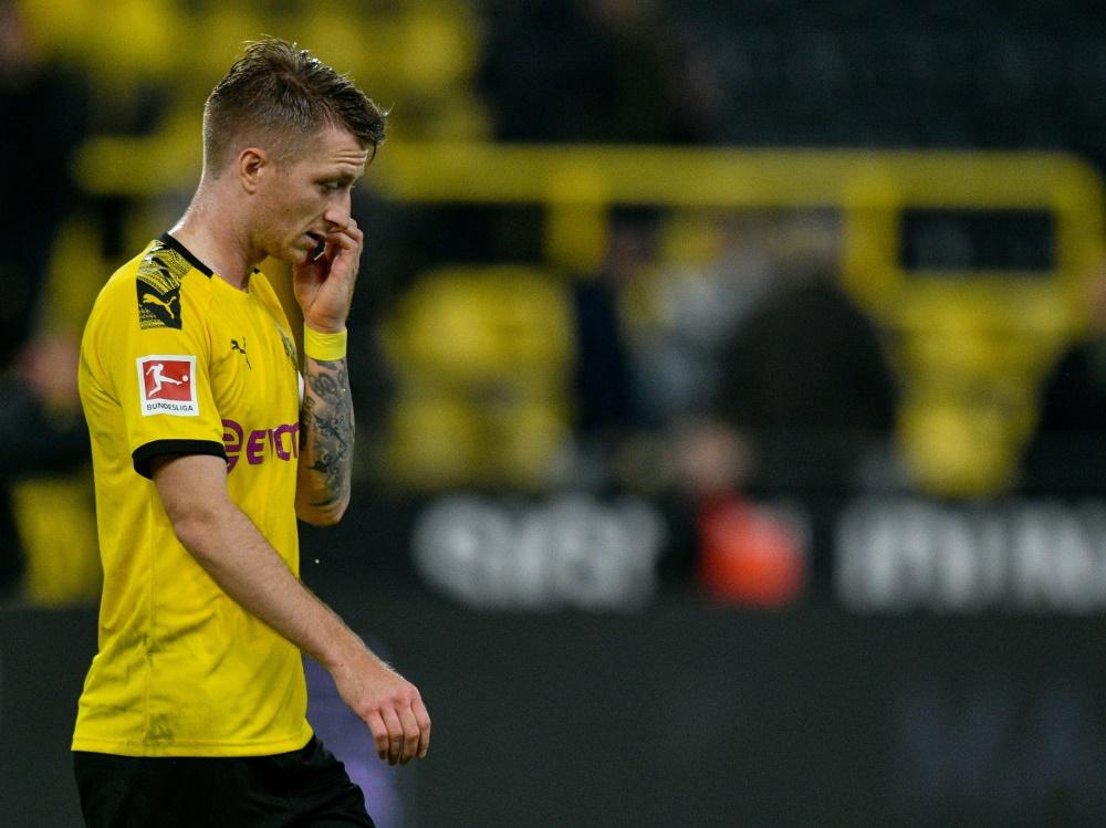 Marco Reus fehlt Borussia Dortmund gegen Inter Mailand