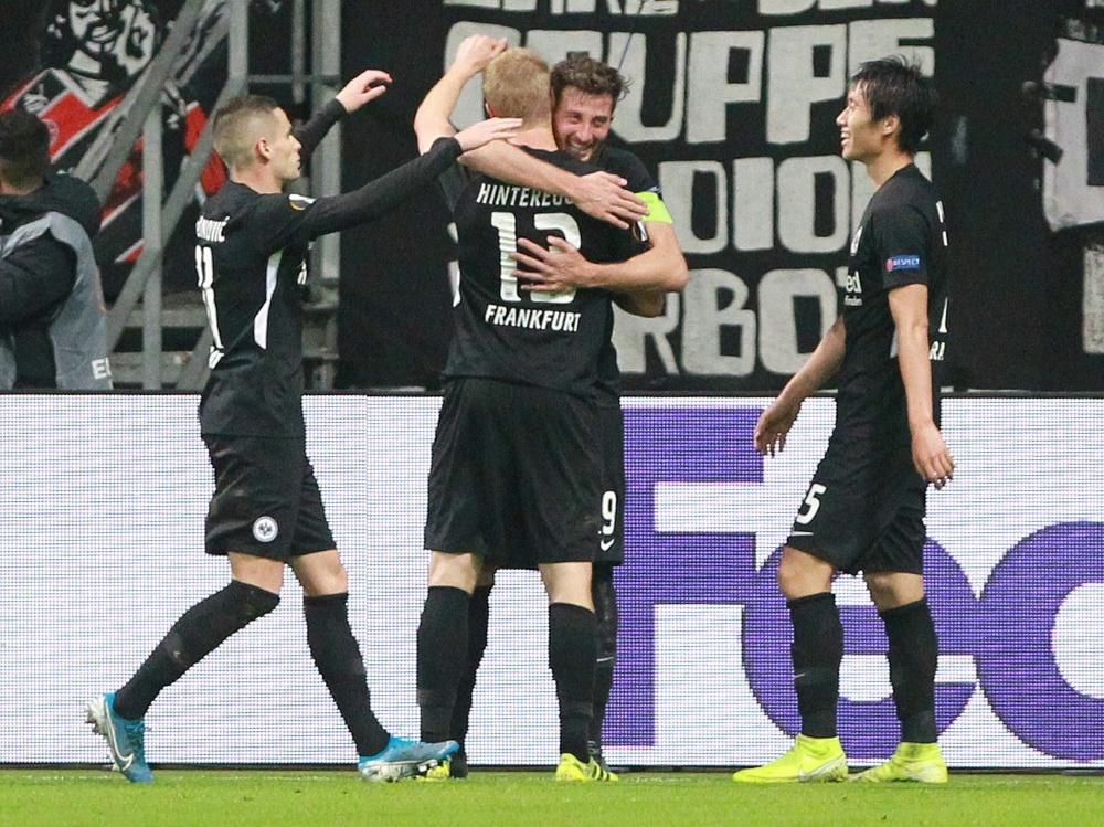 Frankfurt konnte sich auf seine Abwehrspieler verlassen