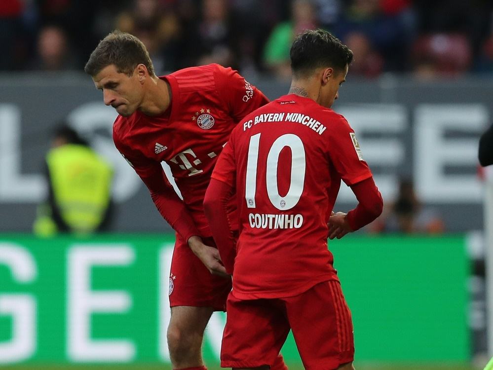 Müller und Coutinho stehen in der Startelf