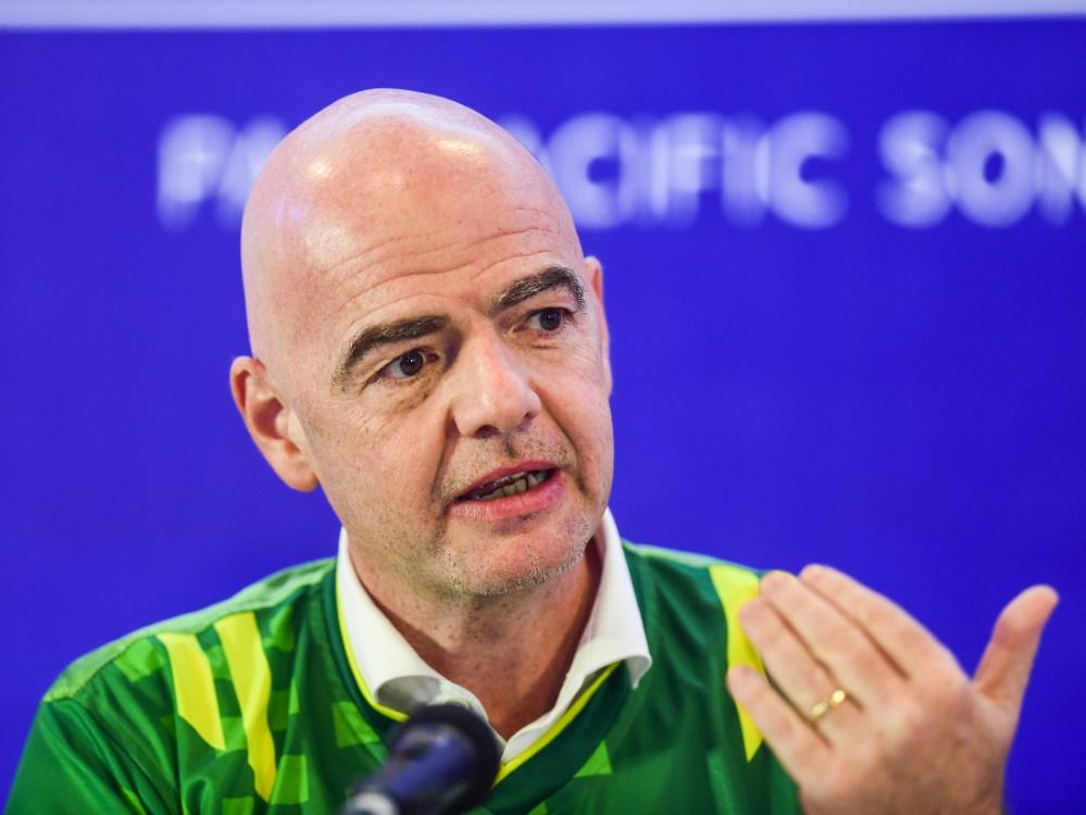 Infantinos Klub-WM steigt in China
